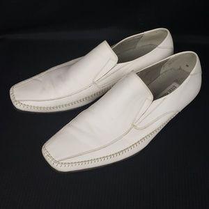 Steve Madden Shoes - Steve Madden M-Trace Loafer White Size 9.5
